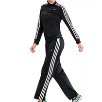 Conjunto Deportivo Pants + Chamarra Adidas Dama Original M