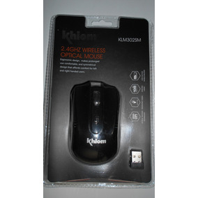 Mouse Inalámbrico Khlom 2.4g