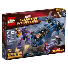 Lego Super Heroes 76022 Wolverine / X-men Contra A Sentinela