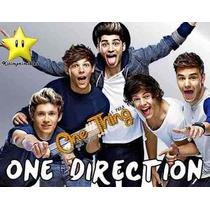Gran Kit Imprimible One Direction Diseñá Tarjetas, Cumpleaño