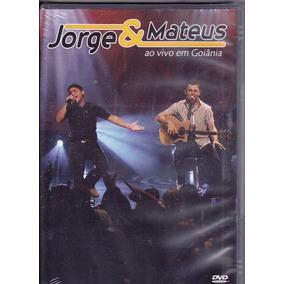 Dvd Jorge E Mateus - Ao Vivo Em Goiânia - Lac.frete Grátis