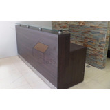 Mueble Para Recepcion Oficina-espera-mostrador De 120x70x110
