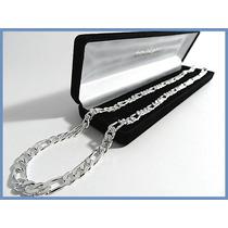 Elegante Cadena Plata Solida Mod. Cartier Gruesa 70grs