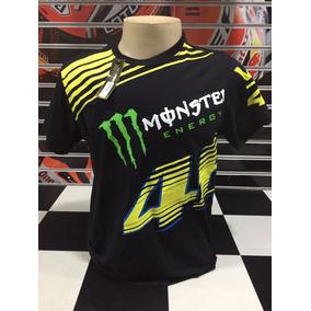 Camiseta Monster Valentino Rossi Vr 46 Stripe