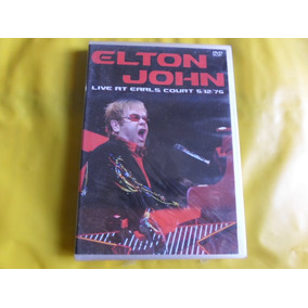 Dvd Elton John Live At Earls Court / Novo