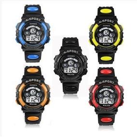 Relógio Infantil Masculino Digital C/ Led E Alarme