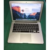 Macbook Air. 13 Cls. 13p. 128gb. 4gb Ram. 9 Meses De Uso.