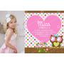 Kit Imprimible Lechuzas Candybar Invitacion Cumpleaños Buho
