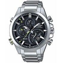 Relógio Casio Edifice Global Time Link Bluetooth Eqb-500d-1a