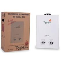Calentador De Agua De Paso Redugax 6 Lts Gas L.p.