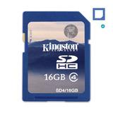 Tarjeta Memoria Kingston Sdhc 16gb Clase 4 Video Hd Reflex