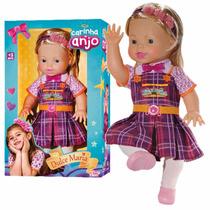 Boneca Original Carinha De Anjo Dulce Maria 45cm Baby Brink