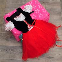 Disfraz De Caperucita Roja Halloween Fiesta Infantil Disney