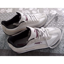 Puma Sf77 Nylon Camurça Sneakers Sapatos Import. Eua
