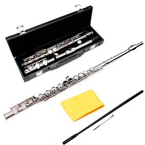 Flauta Transversal Plata Envio Gratis Traversa Estuche