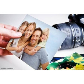 Papel Fotográfico 500 Folhas Glossy Brilho 230g A4