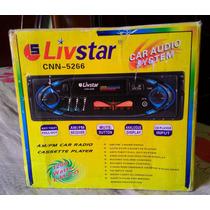 Radio De Carro Automotivo Livstar Cnn-5266
