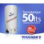 Calefon 50 Lts. Tanque De Cobre 20 Años De Garantia Warner