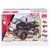Meccano 16212 Set De 25 Modelos - Camioneta 4x4 Todo Terreno