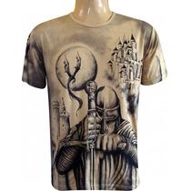 Camiseta São Jorge Guerreiro - 100% Viscose - Unissex