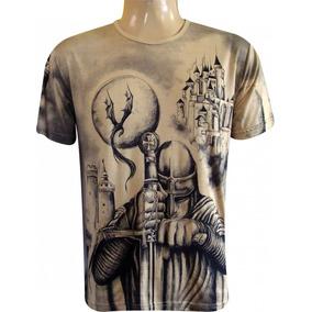 Camiseta São Jorge Guerreiro - Unissex - Umbanda/ Candomblé