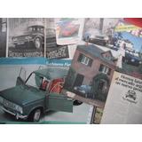 Fiat 125 Berlina Road Test Publicidad No Manual Insignia