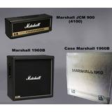 Marshall Jcm 900 (4100) + Caja 4x12 1960 B + Case