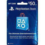 Playstation Network Card 50$ Ps3 Ps4 Psn Card 50$ Usa