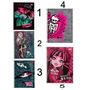 Caderno Monster High 1 Matéria Cd 1 Un - Tilibra