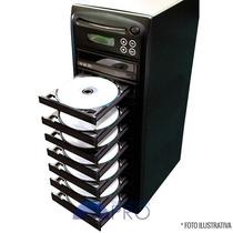 Torre Copiadora De Dvd / Cd Com 8 Gravadores Philips Lite-on