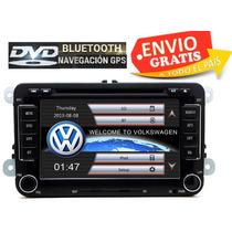 Estereo Pantalla Vw Dvd Bluetooth Jettaa6 Bora Vento Camara