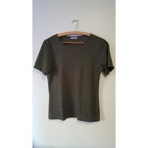 Blusa Camiseta Feminina Verde Cortelle