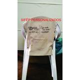 10 Capas Cadeira De Plástico Com Braço Logo Personalizado