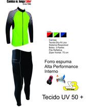 Conjunto Penks Calça + Camisa Lider Masculino De Ciclismo