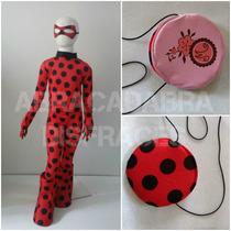 Disfraz Tipo Lady Bug Miraculuos Ladybug Prodigiosa 2-12