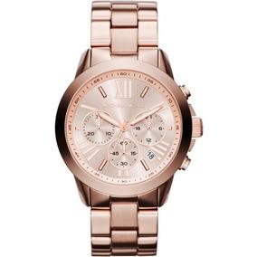Relogio Maicon Kors Rose - Joias e Relógios no Mercado Livre Brasil deaa255520