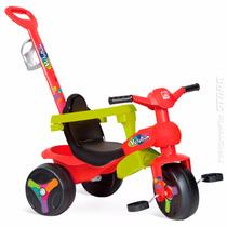 Velotrol Triciclo Veloban Plus Passeio Infantil Bandeirante
