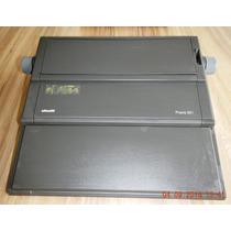 Máquina De Escrever Eletrônica Olivetti Praxis 201
