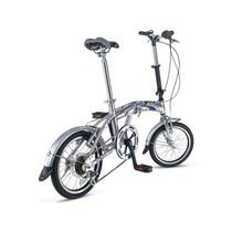Bicicleta Folding Plegable R16 6 Velocidades Mercurio