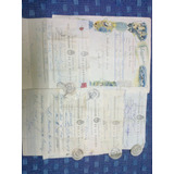 Argentina Lote Telegramas Antiguos Uno De Lujo Años 50 Lot A