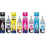 Tinta Original Epson T664 L200 L220 L355 L455 L555 L575