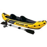 Kayak Inflable Intex 68307 Bote Laguna 2 Remos
