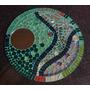 Cuadro Espejo Circular De Diseño - Mosaiquismo Venecitas