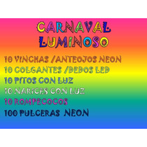 Carnaval Carioca 150 Articulos Todos Luminosos
