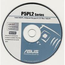 Cd Drivers Original Placa Mae Asus P5pl2 Series