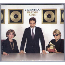 Vicentico Ultimo Acto Cd ( Ya Disponible A La Venta )