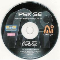 Cd Drivers Original Placa Mae Asus P5k Se