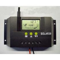 Controlador Regulador De Voltaje Solar De 30 Amperes