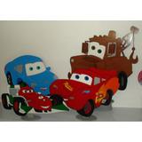 Alquiler De Figuras Mdf Y Decoracion Cars - Centro De Mesa