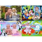 Coleccion Dvd 60 Plantillas Psd Para Fotomontajes De Bebes